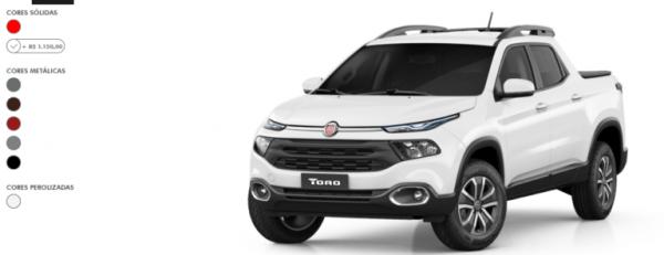 Fiat-Toro-2022-cores-600x231 Fiat Toro 2022: Ficha Técnica, Preço, Fotos, Consumo
