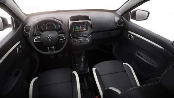Renault-Kwid-2022-interior-600x338 Renault Kwid 2022: Preços, Fotos, Características, Versões