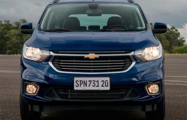 Chevrolet-Spin-2022-5-600x387 Chevrolet Spin 2022: Preço, Ficha Técnica, Novidades, Fotos