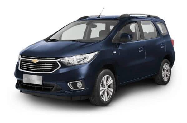 Chevrolet-Spin-2022-600x395 Chevrolet Spin 2022: Preço, Ficha Técnica, Novidades, Fotos