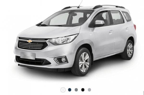 Chevrolet-Spin-cores-600x394 Chevrolet Spin 2022: Preço, Ficha Técnica, Novidades, Fotos