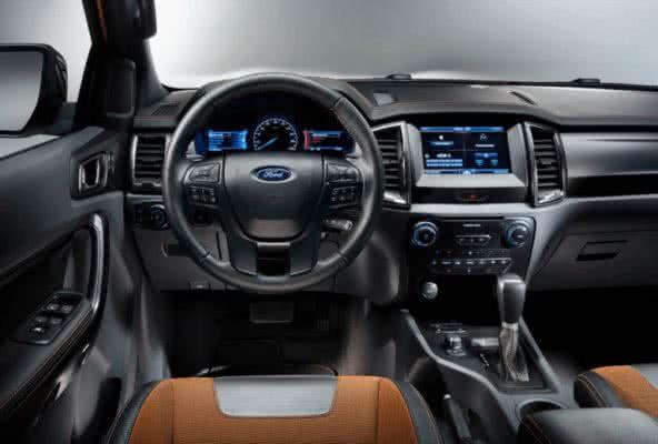 Ford-Ranger-2022-10-592x400 Ford Ranger 2022: Motorização, Fotos, Preços, Ficha Técnica