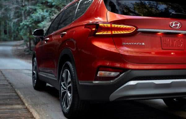Hyundai-Santa-Fé-4-600x385 Hyundai Santa Fé 2022: Preço, Ficha Técnica, Novidades, Fotos