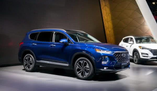 Hyundai-Santa-Fé-600x348 Hyundai Santa Fé 2022: Preço, Ficha Técnica, Novidades, Fotos
