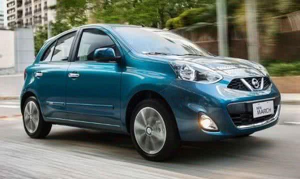 Novo-Nissan-March-2022-5-600x358 Novo Nissan March 2022: Preços, Fotos, Novidades, Ficha Técnica