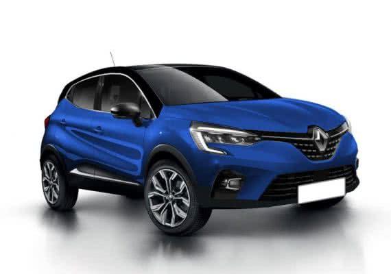Novo-Renault-Captur-2022-11-570x400 Novo Renault Captur 2022: Motorização, Preços, Ficha Técnica, Fotos