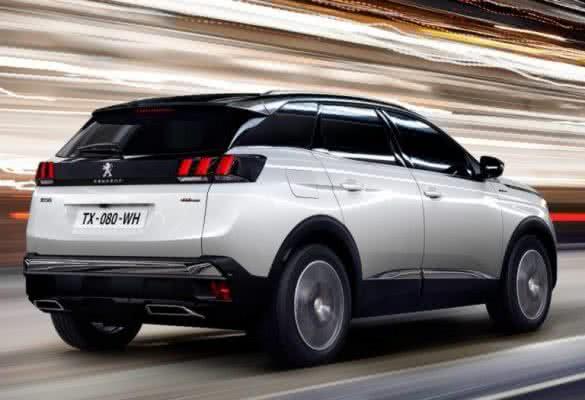 Peugeot-3008-2022-9-585x400 Peugeot 3008 2022: Preço, Consumo, Ficha Técnica e Fotos