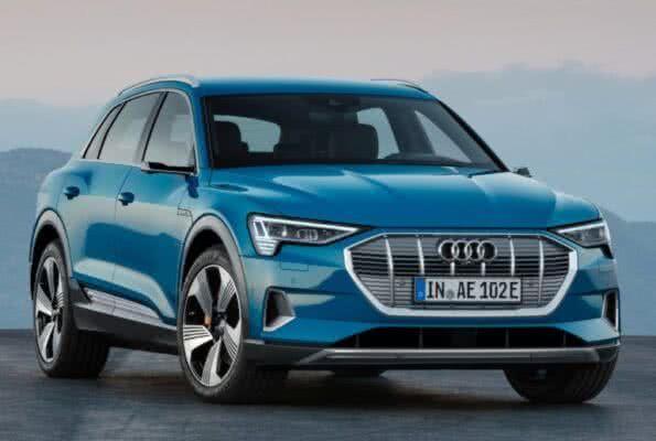 Audi-e-tron-2022-04-595x400 Audi E-tron 2022: Preço, Consumo, Fotos, Itens, Ficha Técnica