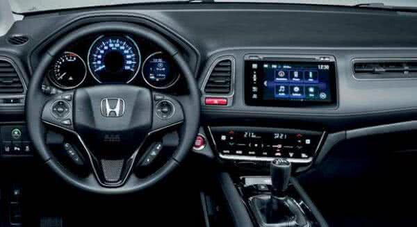 Honda-HR-V-7-600x327 Honda HR V 2022: Ficha Técnica, Preço, Fotos, Consumo
