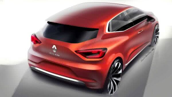 novo-Renault-Clio-5-600x338 Renault Clio 2022: Fotos, Preços, Ficha Técnica, Novidades