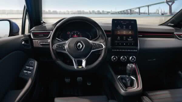 novo-Renault-Clio-8-600x338 Renault Clio 2022: Fotos, Preços, Ficha Técnica, Novidades